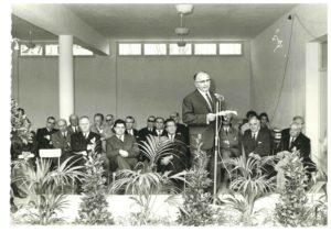 AFPJR 1968 - Inauguration de l'IMPRO - Institut Médico Professionnel
