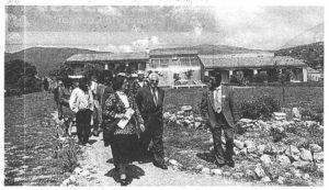 1991 - Inauguration du Foyer de vie et centre de jour Riou