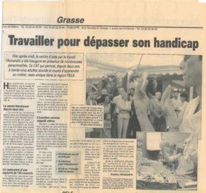 1999 - Inauguration ESAT l Almandin