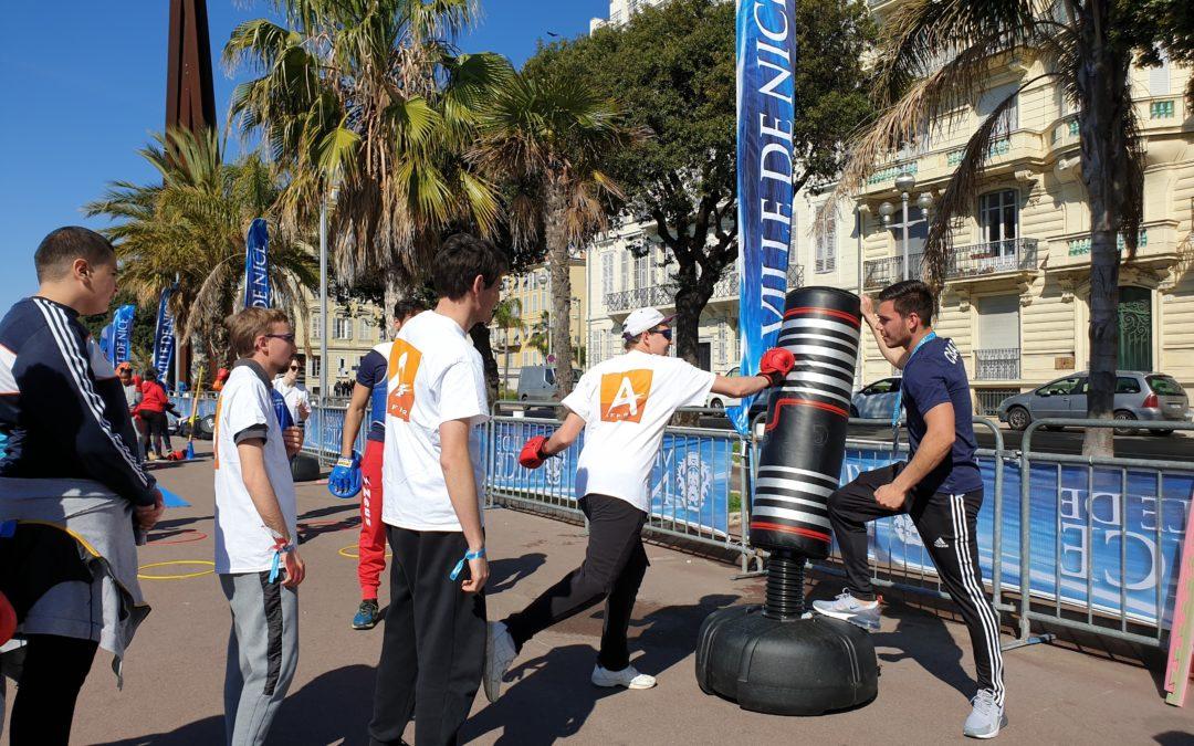 L'AFPJR à la Fête du sport de Nice