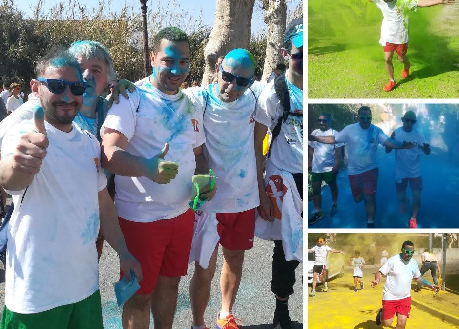 Le Centre Fleurquin Destelle a participé à la Run Color de Pégomas