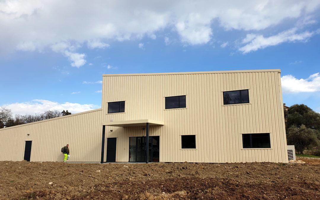 Une nouvelle construction à l'ESAT La Bastide
