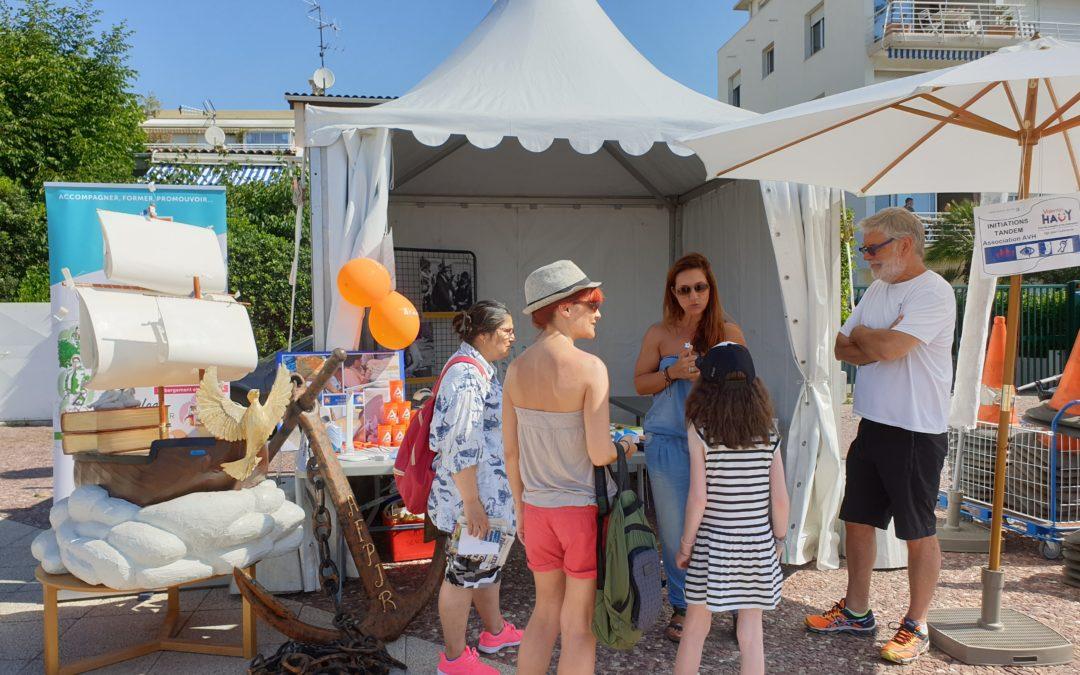 L'AFPJR participe à «Tous à la plage» organisée par St Laurent du var – 22/06/19