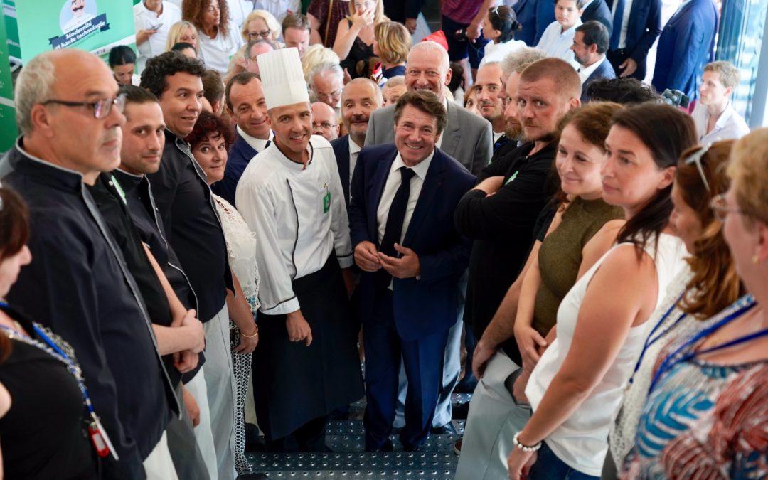 L'AFPJR a signé un partenariat pour la légumerie de la nouvelle cuisine centrale de la Ville de Nice