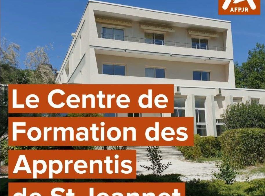 Focus sur le Centre de Formation de St Jeannet