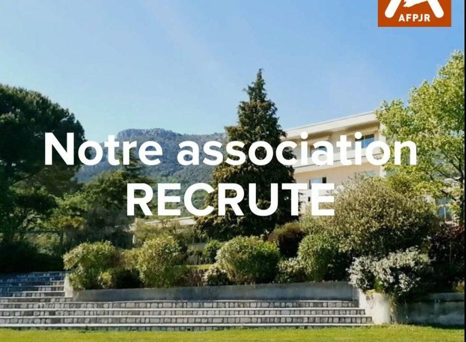 Notre association recrute !